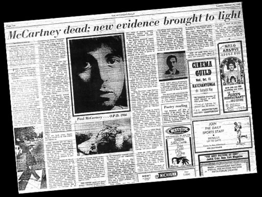 """""""Paul Is Dead"""" - The Great Hoax Daily"""