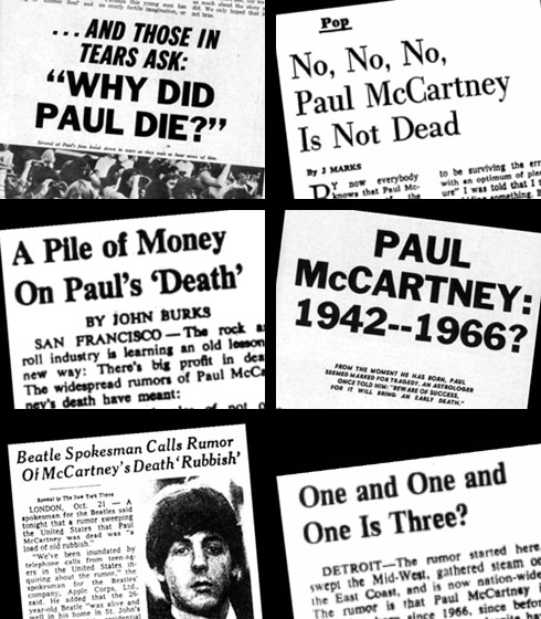 """""""Paul Is Dead"""" - The Great Hoax News"""